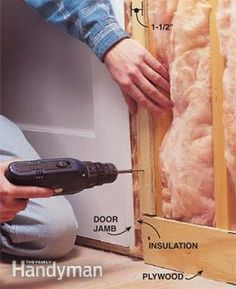 Don't forget nailers for baseboard and trim when you soundproof a room