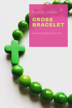 Cross Bracelets, Cross Jewelry, Beaded Jewelry, Christian Jewelry, Religious Jewelry, Etsy Jewelry, As You Like, Gifts For Women, Goodies