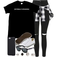 Style #11094 by vany-alvarado on Polyvore featuring mode, Topshop, Converse and…