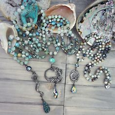 June Designer Spotlight with Zoe Witcomb | Halcraft Collection - Owners & Creators of Bead Gallery™ Diy Jewelry Making, Bracelet Making, Gifts For Your Girlfriend, Gifts For Her, Semi Precious Beads, Bead Shop, Beach Jewelry, Boho Necklace, Boho Chic