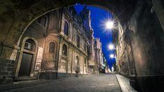 Sicily, Catania, via Crociferi.