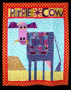 Purple Cow by Mary Lou Weidman