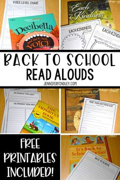 I love using read alouds at the beginning of the year to build community and set expectations. This post shares my favorite back to school read alouds. First Week Of School Ideas, First Day Of School Activities, Beginning Of The School Year, Upper Elementary, Elementary Schools, Sixth Grade Reading, Third Grade, School Grades, Kindergarten Lessons