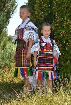Traditional clothing of Catholics from Orašje, Bosnia and Herzegovina
