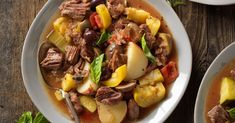 Try one of these 11 warming beef stew recipes that are simmered to perfection. Slow Cooker Shredded Beef, Braised Brisket, Cut Recipe, Brisket Sandwich, Cooking Ingredients, Corned Beef, Soups And Stews, Beef Stews, Pot Roast