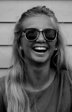 hair, teeth, glasses :)
