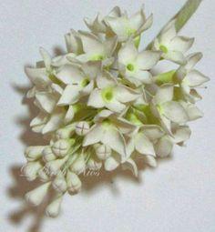 Sugar flowers - Bouvardias arrangement - CakesDecor
