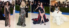 "No! No! Kendall Jenner, Madonna, Nicki Minaj and Janelle Monae Other celebs simply opted for a motely mix of every and any trend du jour. There was good ol' Madonna still trying hard to shock in Moschino camouflage, Kendall Jenner almost naked in a wisp of La Perla  2017 ""Art of the In-Between"" is the year's big exhibition at New York's Metropolitan Museum - David Wolfe's Dateline Paperdollywood - Met Gala"