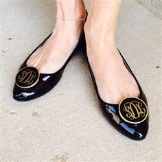 You'll love the versatility these Enamel Shoe Clips provide. Easy to snap on and jazz up any pair of sandals, ballet flats or classic pumps. Pick your favorite colors for some happy feet!