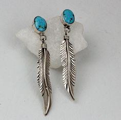 Lydia Begay – Sterling Silver Post Earrings