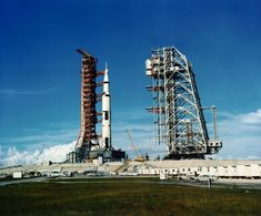 The Saturn V rocket that launched Neil Armstrong, Buzz Aldrin and Michael Collins on their Apollo 11 moon mission at Cape Kennedy, Fla., on July (Courtesy of NASA) Apollo 11 Crew, Apollo 11 Mission, Apollo Missions, Moon Missions, Neil Armstrong, National Geographic, Programme Apollo, Apollo Space Program, Nasa History