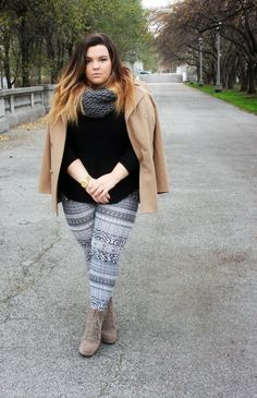 d2363521859 How To Style Patterned Leggings. Remone Marie On Poshmark Ebay · Plus Size  Diva
