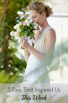 5 Pins That Inspired Us This Week – May 24, 2014 May 24, Budget Wedding, Wedding Season, One Shoulder Wedding Dress, Weddings, Bride, Wedding Dresses, Inspiration, Inspired