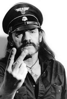 Lemmy Kilmister of Motörhead-for never selling out, he's respected by every rock&roll band there is! Motörhead still tour, their way, their music, their style and no one will change that as long as Lemmy's around and for a guy who literally drinks pints of Jack Daniels, I'm pretty sure he'll last a few more years :)