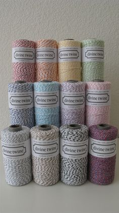 $5.25 including shipping, 25 yards of bakers twine, tons of colors to choose from
