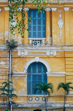 blue and yellow vibes in ho chi minh city, vietnam Visit Vietnam, Vietnam Travel, Asia Travel, Vietnam Ho Chi Minh, Ho Chi Minh City, Saigon Vietnam, Hoi An, Hanoi, All The Bright Places