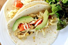 Chipotle Chicken Tacos | Mel's Kitchen Cafe. I've been known to suggest we start a restaurant after making these tacos. The avocados are close to being a must. Easy with the peppers - they're spicy (I always take the seeds out)