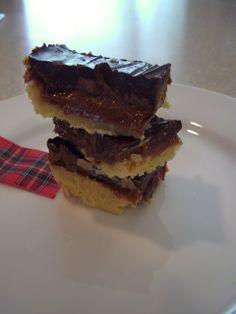 Scottish Recipes - Millionaires Shortbread