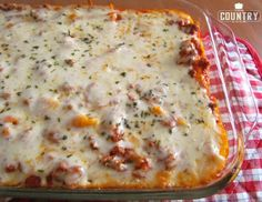 The Pizza Pasta Bake! The Country Cook: 30 Favorite Ground Beef Recipes.I LOVE this website. Such simple and easy recipes. I'll definitely be trying some of her recipes! Easy Baked Ziti, Baked Penne, Penne Pasta, Baked Ravioli, Rice Pasta, Rigatoni, Pasta Salad, Meat Recipes, Dinner Recipes