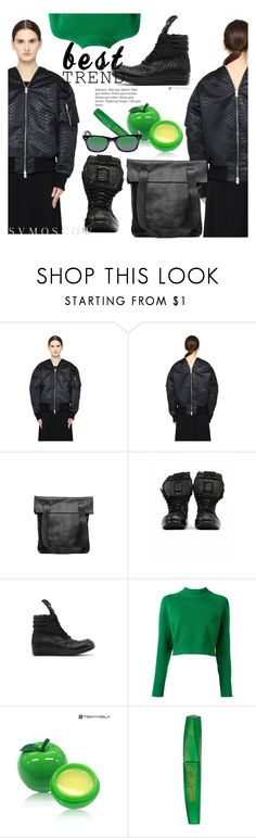"""SVMOSCOW"" by selmir ❤ liked on Polyvore featuring Yang Li, Yohji Yamamoto, DKNY, TONYMOLY, Rimmel and Ray-Ban"