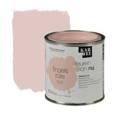 Kleuren van Nu lak zijdeglans engels roze 250 ml - Make Up Lara Design Baby Bedroom, Nursery Room, Dream Bedroom, Girls Bedroom, Bedroom Inspo, Bedroom Colors, Pink Room, Hand Painted Furniture, Nursery Neutral