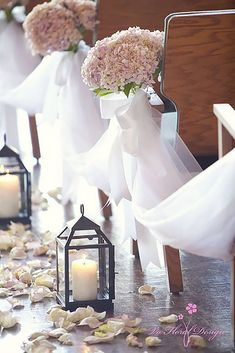 Beautiful And Breathtaking Church Wedding Decorations ❤ See more: http://www.weddingforward.com/church-wedding-decorations/ #weddings #weddingdecoration