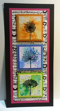 "Lavinia Stamps – July Challenge ""ADD A FLOWER OR FLOWERS"""