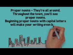 ▶ Proper Noun Song (Proper Nouns by Melissa) - YouTube engels