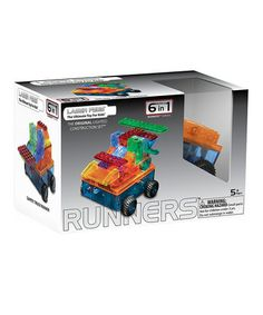 This Car Runner Light-Up Building Set is perfect! #zulilyfinds