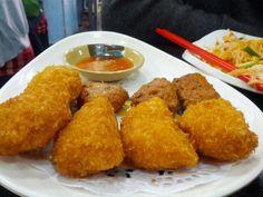 Thai prawn and fish cakes @ Thailand Roadside (泰國路邊街美食), Kowloon City