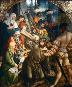 Hans Dürer (attributed) - Christ carrying the cross, Wroclaw, Muzeum Historyczne w Pałacu Królewskim
