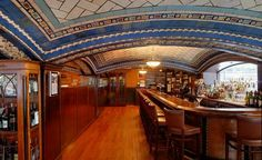 The Soaring and Nearly Forgotten Arches of New York City: The Della Robbia Room Bar in the Vanderbilt Hotel