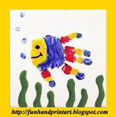 Blog dedicated to handprint/footprint crafts