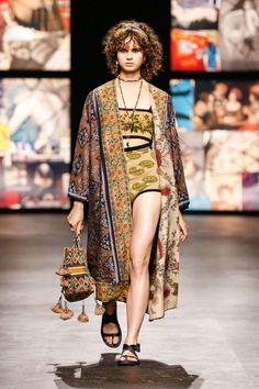 Runway Fashion, Boho Fashion, Fashion Show, Womens Fashion, Boho Chic, Hippie Chic, Christian Dior, Maria Grazia, Designer Collection