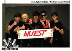Minhyun, Ren, JR, Baekho, & Aron at Nu'est Face to Face in Malaysia