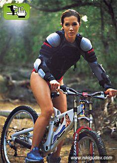 Niki Gudex - Australian Mountain biker