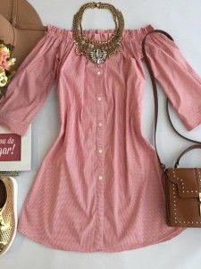 Dress - Station Store More Source by antniakarvalho Cute Dresses, Casual Dresses, Short Dresses, Casual Outfits, Summer Outfits, Cute Outfits, Summer Dresses, Love Fashion, Girl Fashion