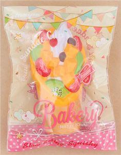 Preorder fruit sundae orange base Vlampo squishy kawaii, Food Squishies, Squishies Shop modeS4u