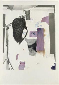 "Richard Hamilton, ""Fashion-plate, Cosmetic-study VII"" (1969) #art"