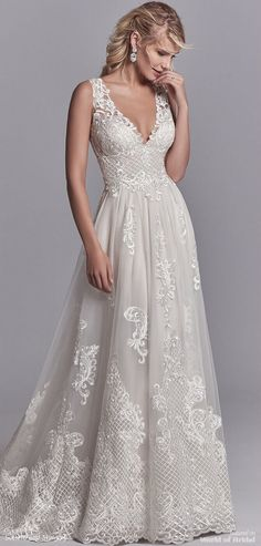 Sottero and Midgley Spring 2018 A-line wedding dress