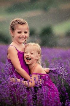 lavender fields make us smile :) cute