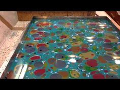 Demonstration of the centuries-old tradition of making marbled paper. Takes place in Florence Italy as part of the Writer's Renaissance retreat.