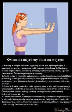 Ćwiczenia na jędrne biust na stojąco Body Care, Health Fitness, Memes, Celebrities, Sports, Workouts, Diet, Hs Sports, Health And Wellness