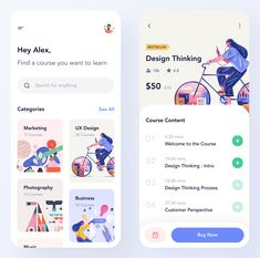 Course App UI Kit for Figma. You will find out how this matching tool can help you achieve your goals. Discover courses and Enjoy!  courses, Education, elegant, elements, figma, learn, learning app, minimal, minimal elements, minimalistic, online courses, simple, ui elements