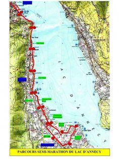 35ème Marathon et Semi Marathon du Lac dAnnecy