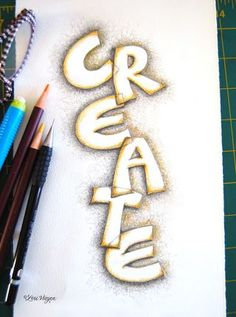 Hand Lettering Journaling | Art Journal - Hand Lettering Ideas/Tutorials on Pinterest (Cinnamon ...