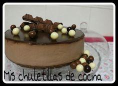 Mis Chuletillas de Cocina: Tarta de Kinder bueno
