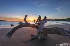 Sunset of Mayotte by Gaby Barathieu on 500px