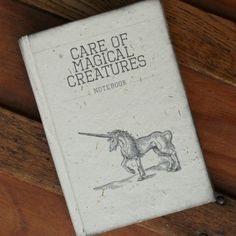 Care of Magical Creatures  Notebook  by celestefrittata