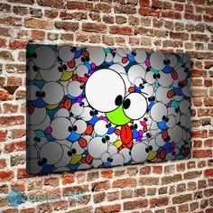 Patlak Gözler Tablo #çocuk_odası_tabloları #genç_odası_tabloları